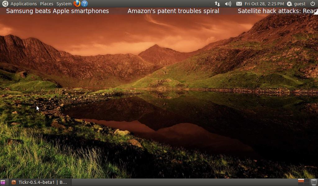 News for Linux full screenshot